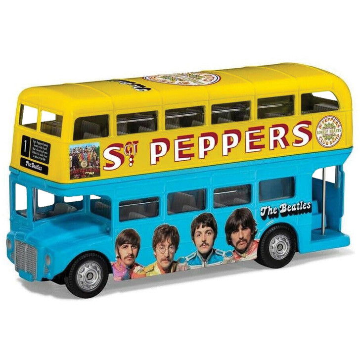 The Beatles London Bus - Sgt. Pepper's Lonely Hearts Club Band Main Image