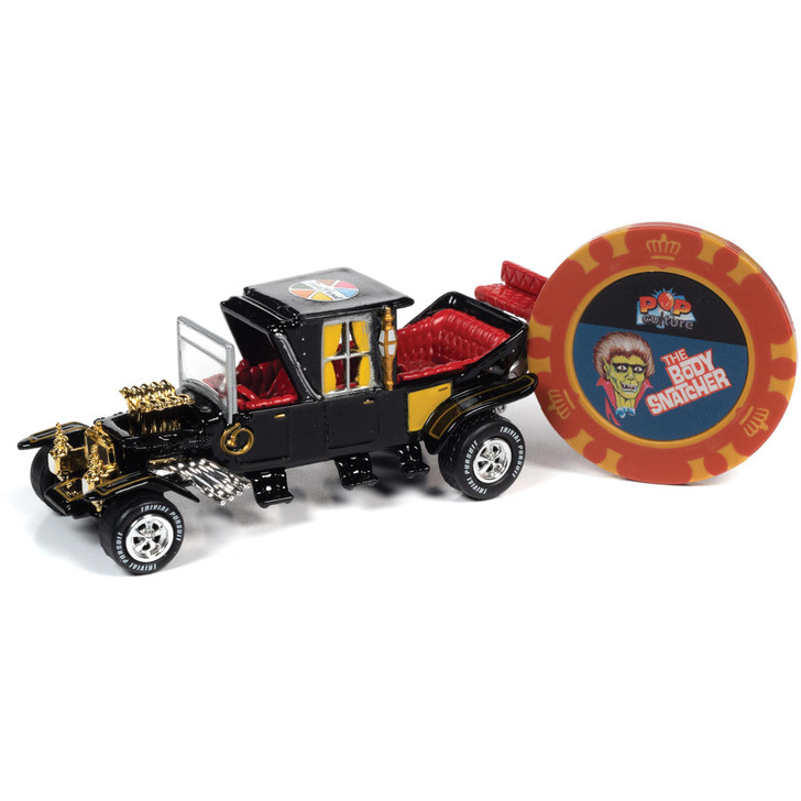 Trivial Pursuit George Barris/Barris Koach & Poker Chip 1:64 Scale Diecast Model by Johnny Lightning Main Image