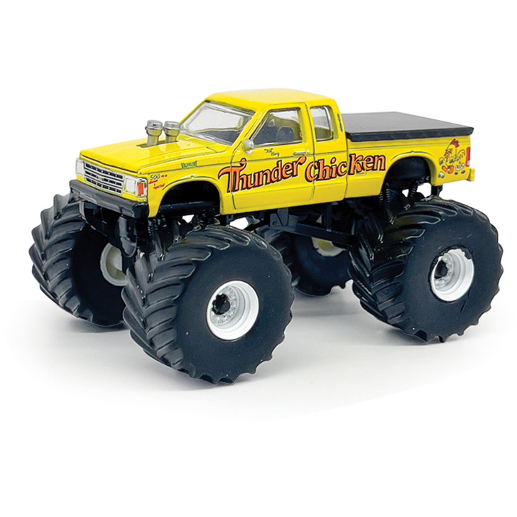 Thunder Chicken - 1989 Chevrolet S-10 Extended Cab Monster Truck 1:64 Scale Main Image