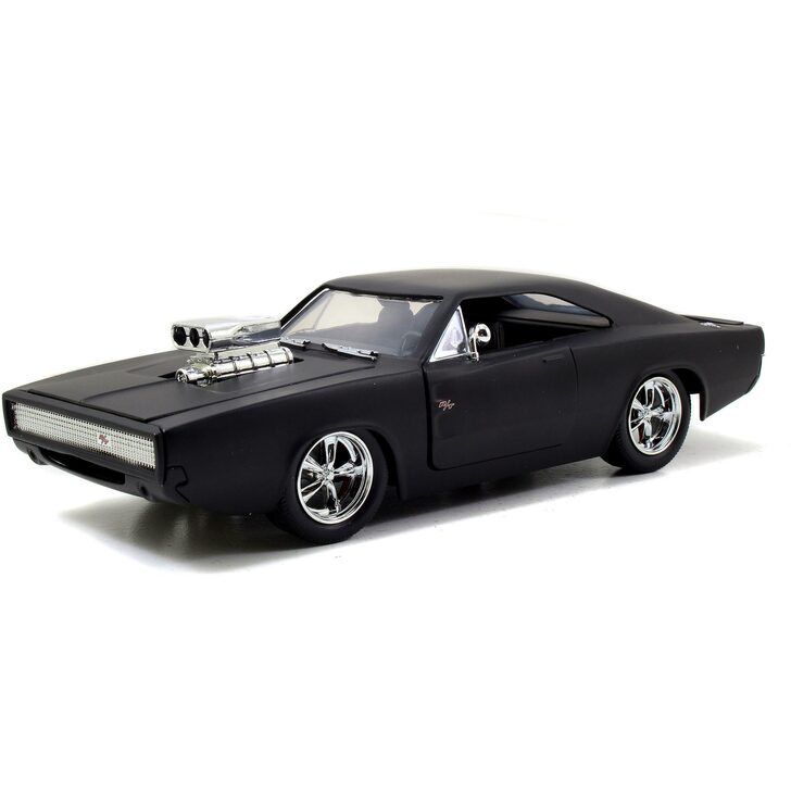 DOM's Dodge Charger R/T - Primer Black - Fast & Furious Main Image