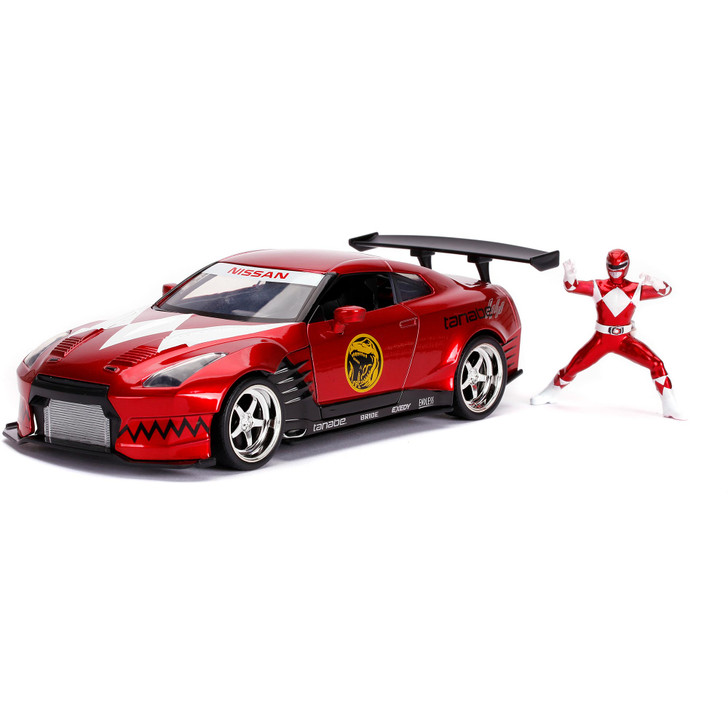 2009 Nissan GT-R (R35) w/Red Power Ranger Main Image