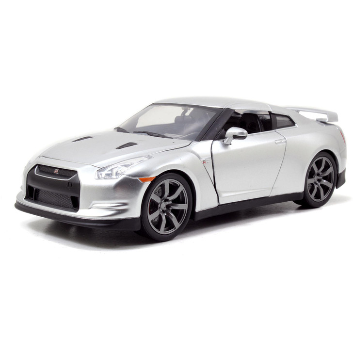 BRIAN's Nissan GT-R (R35) - Candy Silver - Fast & Furious Main Image