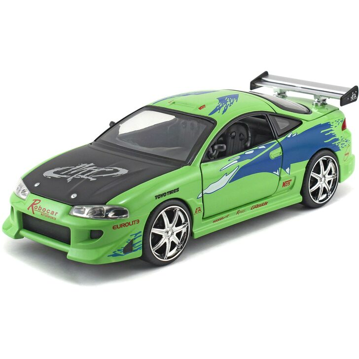 BRIAN's Mitsubishi Eclipse - Fast & Furious Main Image