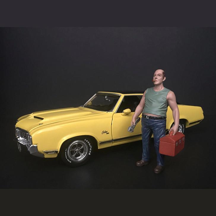 Mechanic - Sam with Tool Box Main Image