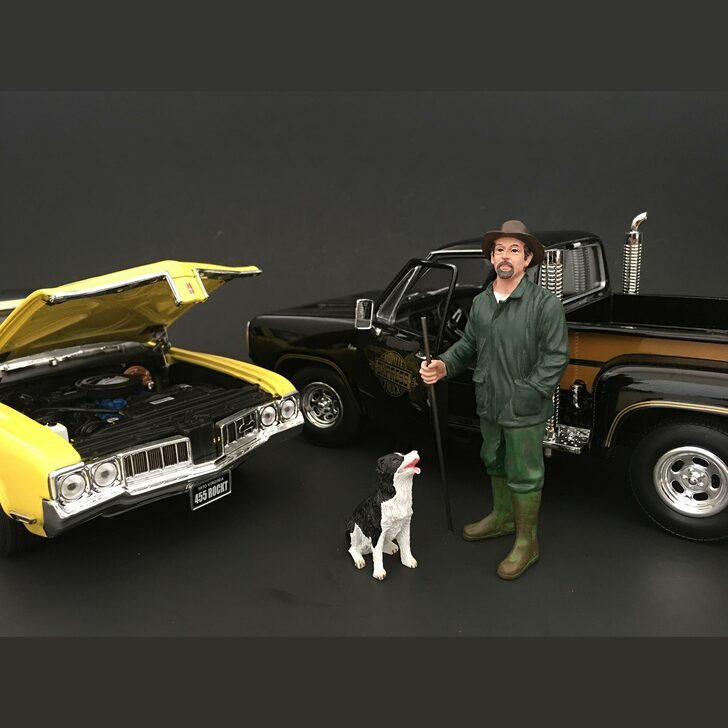 Mechanic - Customer Patrick & Dog Main Image