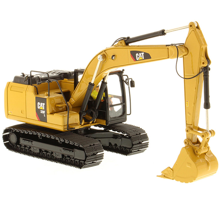 Caterpillar CAT 320F Hydraulic Excavator 1:50 Scale Diecast Model by Diecast Masters Main Image