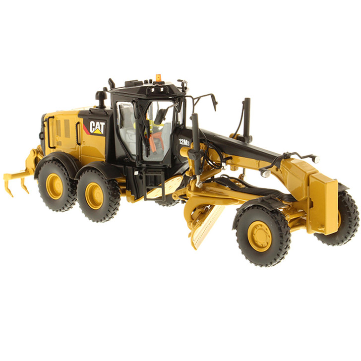 Caterpillar CAT 12M3 Motor Grader 1:50 Scale Diecast Model by Diecast Masters Main Image