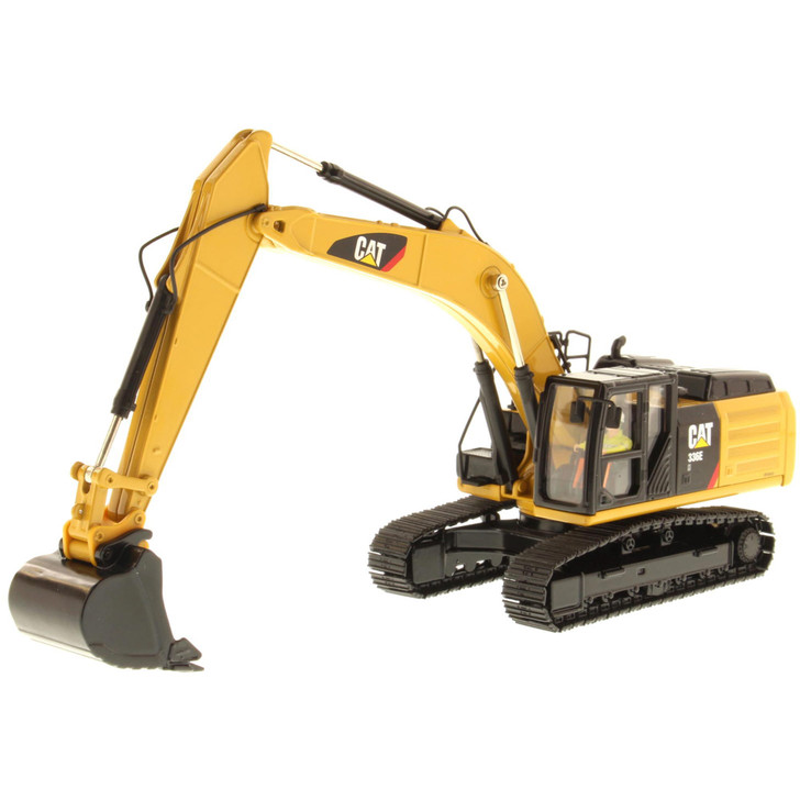 Caterpillar CAT 336E H Hybrid Hydraulic Excavator 1:50 Scale Diecast Model by Diecast Masters Main Image