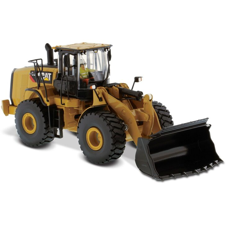 Caterpillar CAT 966M Wheel Loader 1:50 Scale Diecast Model by Diecast Masters Main Image