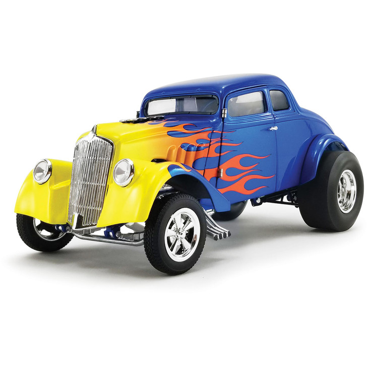 1933 Flamed Willys Gasser 1:18 Scale Diecast Model by Acme Main Image