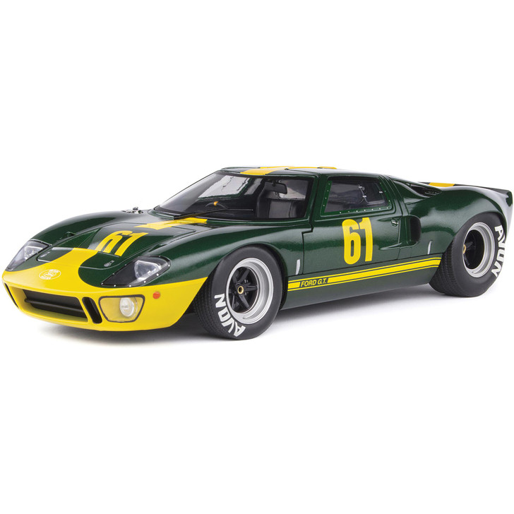 1967 Ford GT40 MK1 1:18 Scale Diecast Model by Solido Main Image