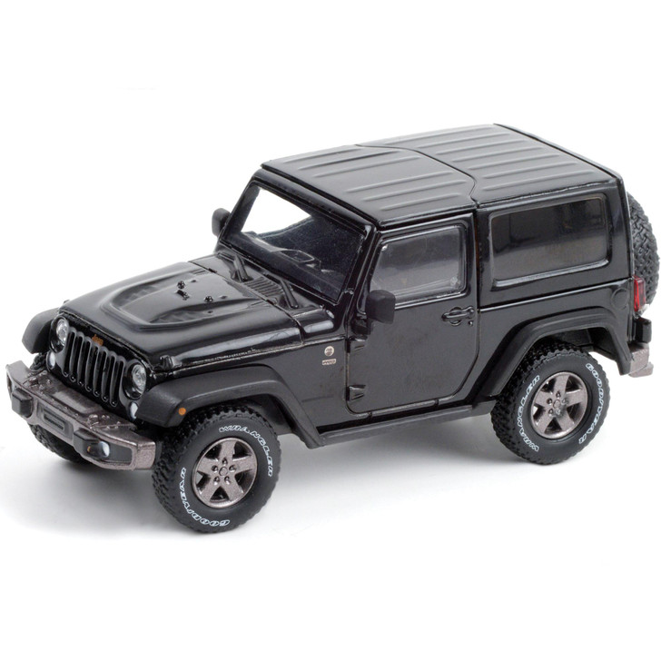 2016 Jeep Wrangler 75th Anniversary Edition - Black 1:43 Scale Diecast Model by Greenlight Main Image