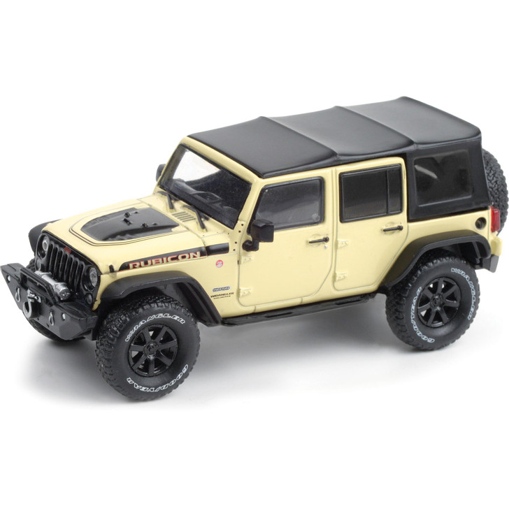 2018 Jeep Wrangler Unlimited Rubicon Recon with Off-Road Parts 1:43 Scale Diecast Model by Greenlight Main Image