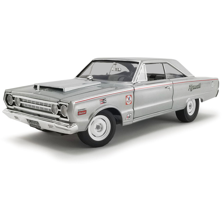 1967 Plymouth Belvedere Lightweight - Silver Bullet 1:18 Scale Diecast Model by Acme Main Image