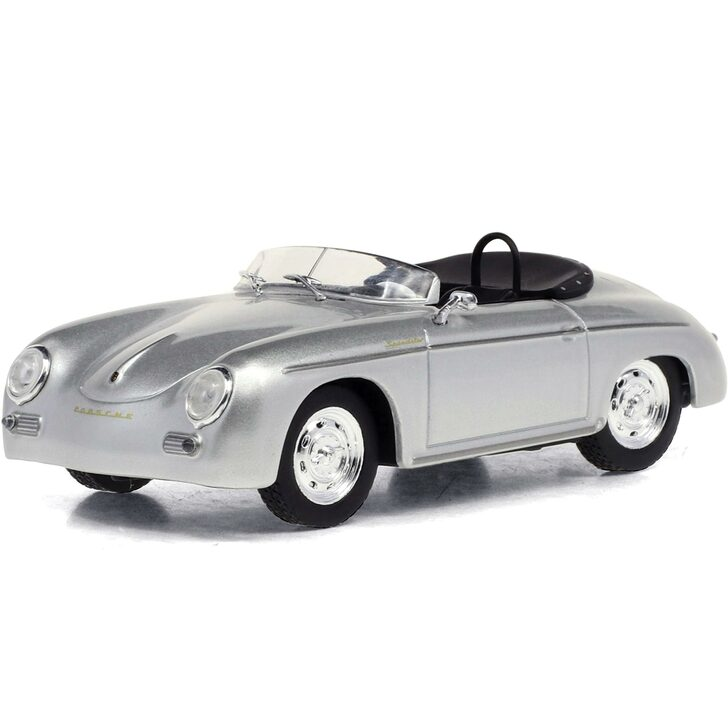1958 Porsche 356 Speedster Super - Silver Metallic 1:43 Scale Diecast Model by Greenlight Main Image