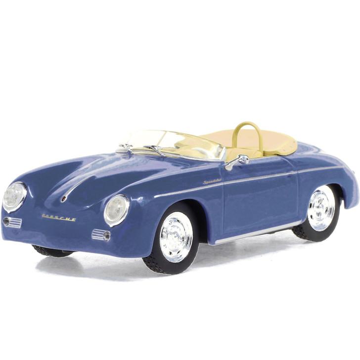1958 Porsche 356 Speedster Super - Aquamarine Blue 1:43 Scale Diecast Model by Greenlight Main Image
