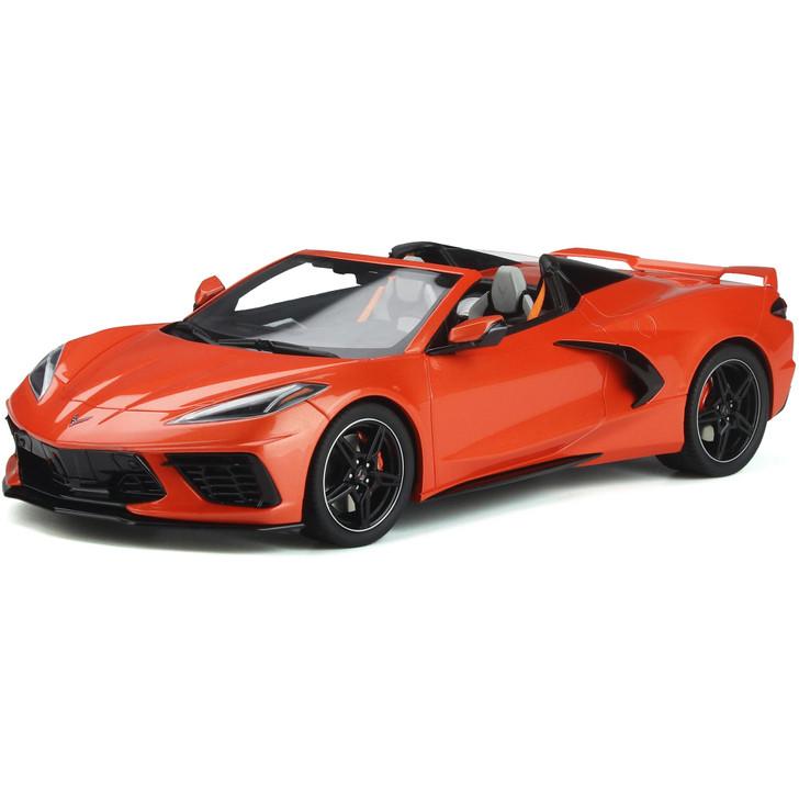 2020 C8 Corvette Convertible - Sebring Orange Main Image