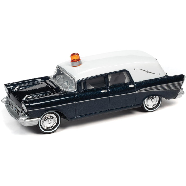 1957 Chevy Hearse - Blue Main Image