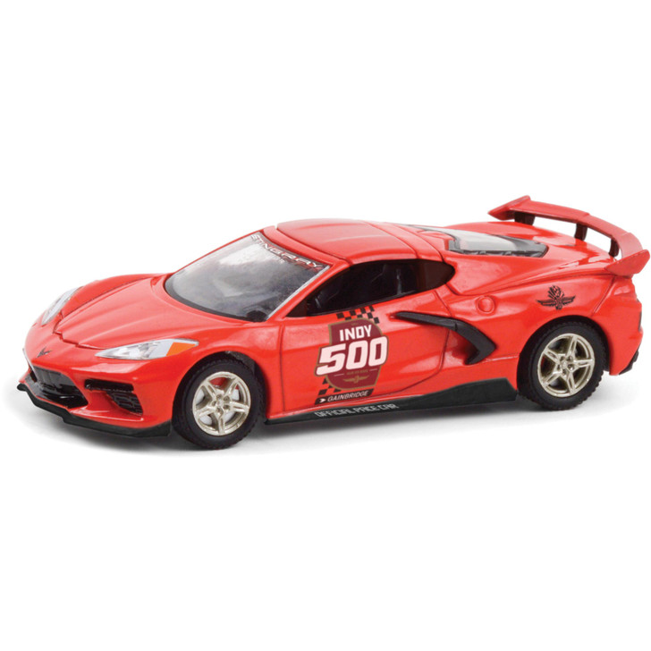 2020 Corvette Stingray - Indy 500 104th Running Official Pace Car 1:64 Scale Diecast Model by Greenlight Main Image