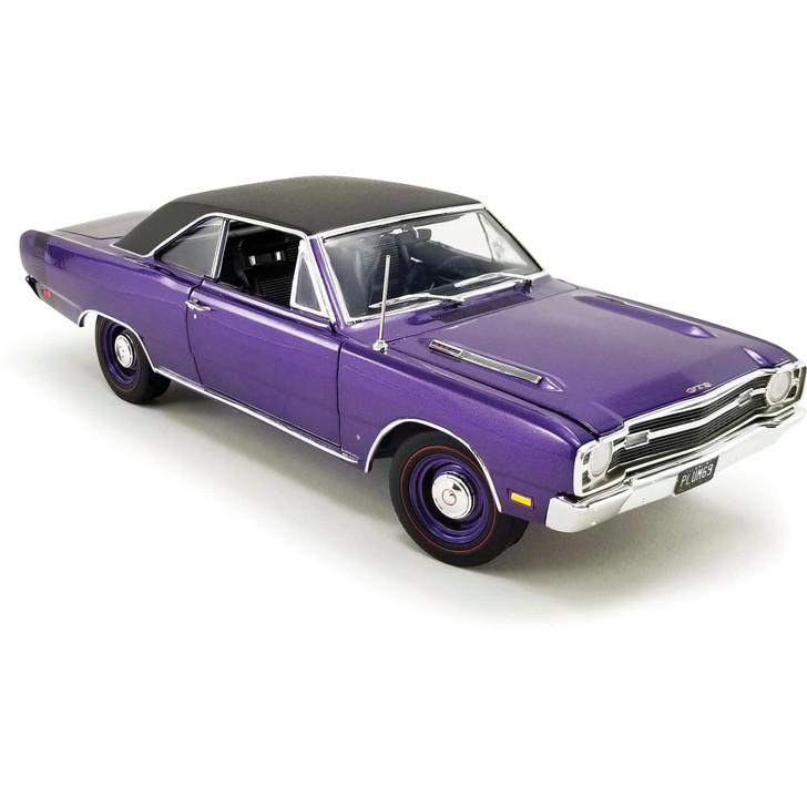 1968 Dodge Dart GTS 440 - Vinyl Top 1:18 Scale Diecast Model by Acme Main Image