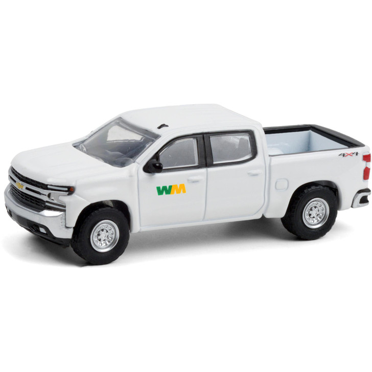 2020 Chevrolet Silverado - Waste Management 1:64 Scale Diecast Model by Greenlight Main Image