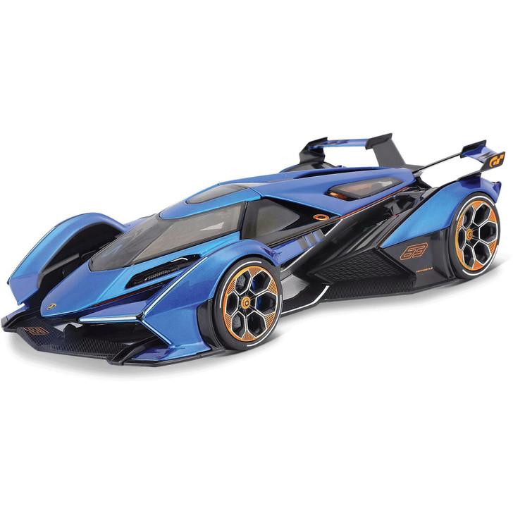 Lamborghini V-12 Vision Gran Turismo - Blue 1:18 Scale Diecast Model by Maisto Main Image