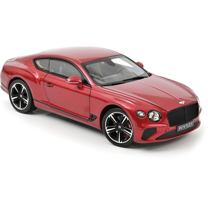 2018 Bentley Continental GT - Red 1:18 Scale Diecast Model by Norev Main Image