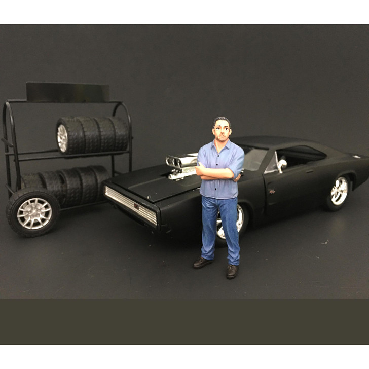 Street Racing Figures - II 1:18 Scale Diecast Model by American Diorama Main Image