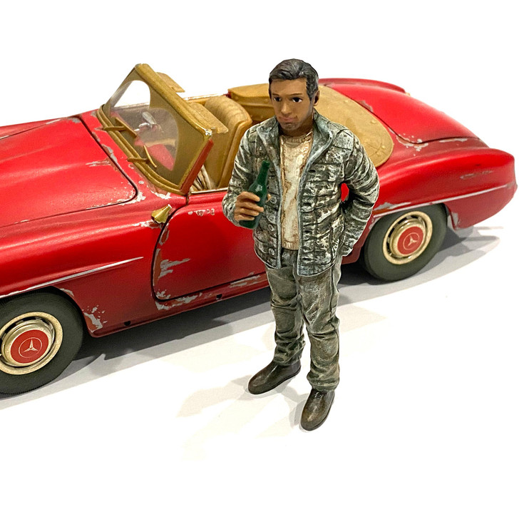 1:18 Mechanic - Hangover Tom 1:18 Scale Diecast Model by American Diorama Main Image