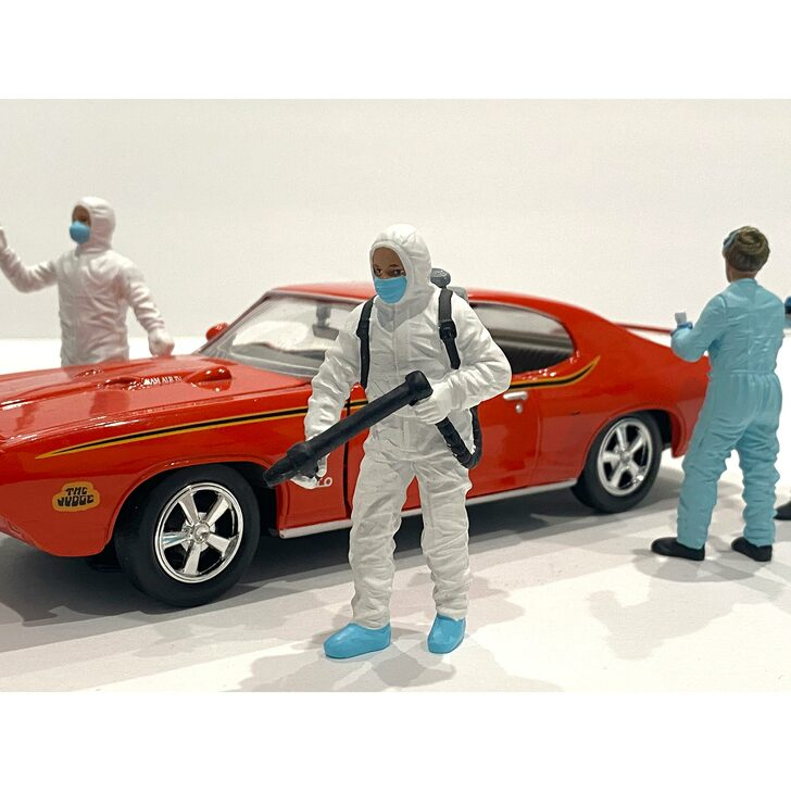 1:18 Hazmat Crew Figure - I 1:18 Scale Diecast Model by American Diorama Main Image