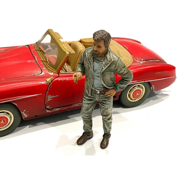 1:24 Mechanic - Mechanic Tim 1:24 Scale Diecast Model by American Diorama Main Image