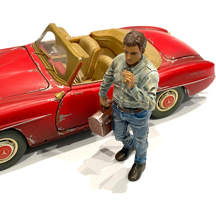 1:24 Mechanic - Chainsmoker Larry 1:24 Scale Diecast Model by American Diorama Main Image