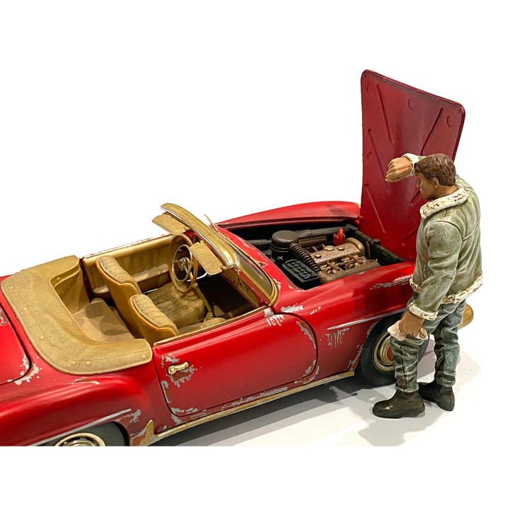 1:24 Mechanic - Sweating Joe 1:24 Scale Diecast Model by American Diorama Main Image