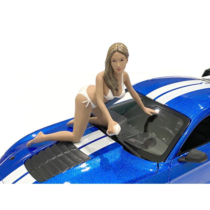 1:24 Bikini Car Wash Girl - Jenny 1:24 Scale Diecast Model by American Diorama Main Image