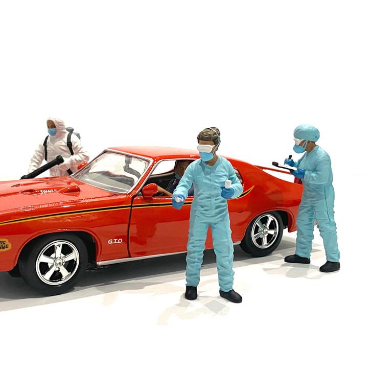1:24 Hazmat Crew Figure - II 1:24 Scale Diecast Model by American Diorama Main Image