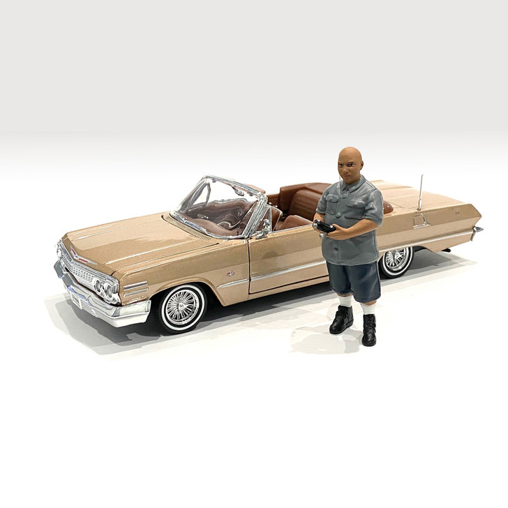 1:24 Lowriderz Figure - I 1:24 Scale Diecast Model by American Diorama Main Image