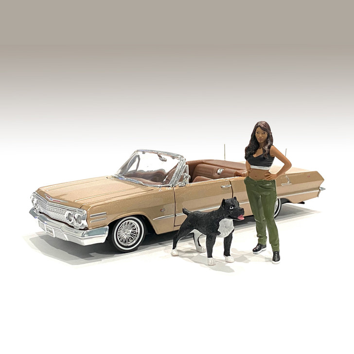 1:24 Lowriderz Figure - IV (Set of 2) 1:24 Scale Diecast Model by American Diorama Main Image
