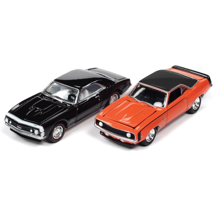 Chevy Baldwin Motion '67 & '69 Camaro 2Pk - Royal Plum & Orange Main Image