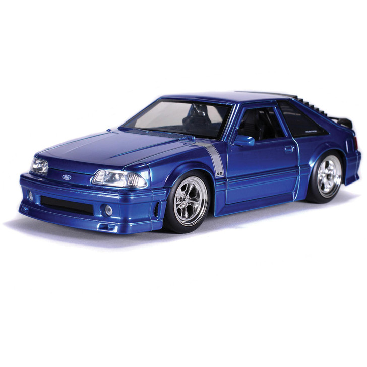 1989 Ford Mustang GT - Blue Main Image