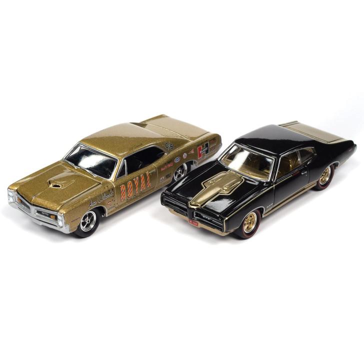 Pontiac GTO Royal Bobcat 2pk - '66 Tiger Gold & '69 Espresso Brown Main Image