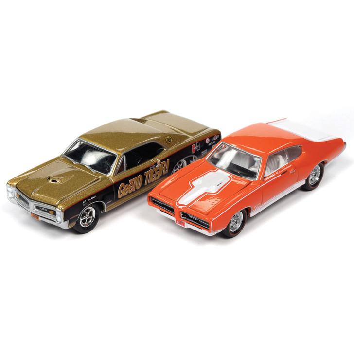 PONTIAC GTO ROYAL BOBCAT 2PK - '66 GTeeO Tiger & '69 Orange Main Image