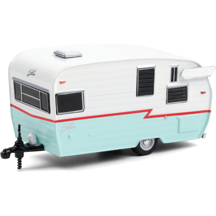 Shasta Airflyte - White, Red and Teal Main Image