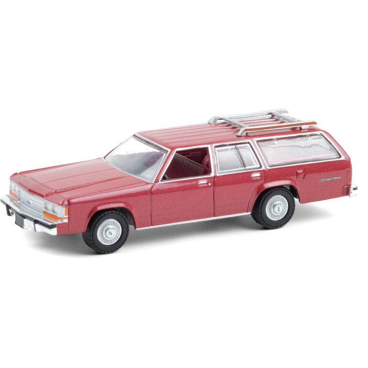 1989 Ford LTD Crown Victoria Wagon 1:64 Scale Diecast Model by Greenlight Main Image