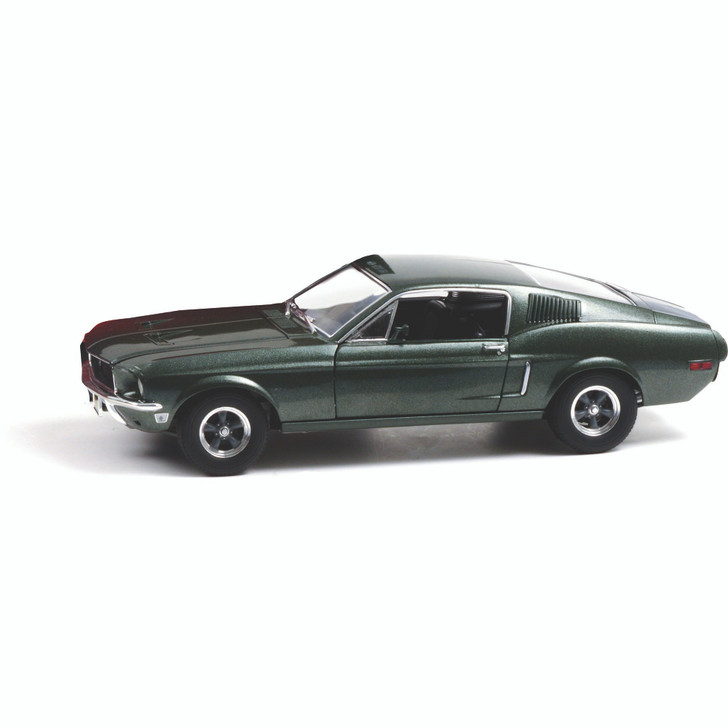 1968 Ford Mustang GT Fastback - Highland Green 1:18 Scale Diecast Model by Greenlight Main Image