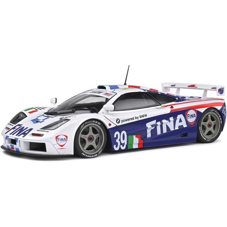 1996 McLaren F1 #39 GTR Short Tail - Le Mans 24 Hours 1:18 Scale Diecast Model by Solido Main Image
