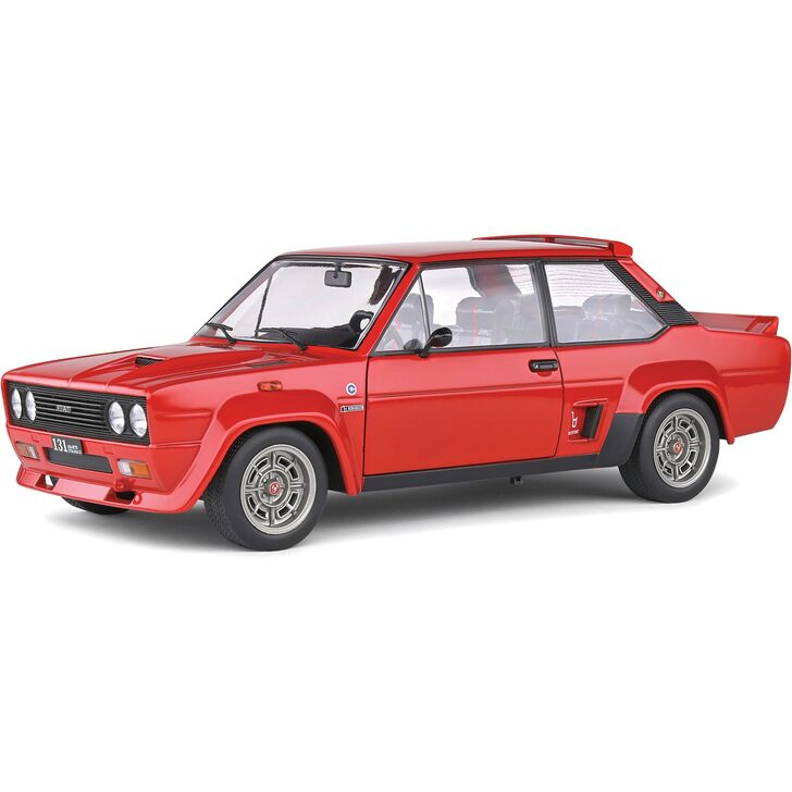 1980 Fiat 131 Abarth 1:18 Scale Diecast Model by Solido Main Image