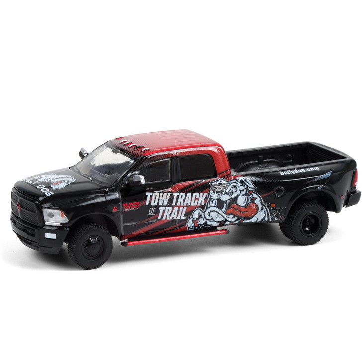 2018 Ram 3500 Dually - Bully Dog Tow Track or Trail 1:64 Scale Diecast Model by Greenlight Main Image