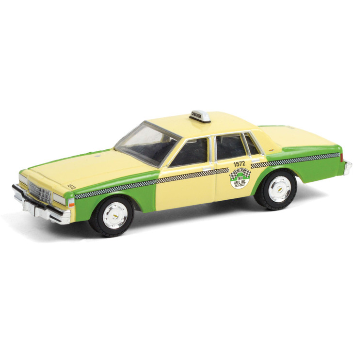 1987 Chevrolet Caprice - Chicago Checker Taxi 1:64 Scale Diecast Model by Greenlight Main Image