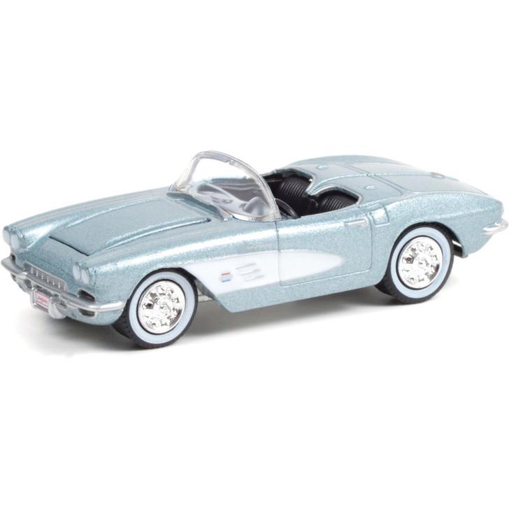 1961 Chevrolet Corvette Convertible (Lot #681) - Barrett-Jackson Scottsdale 1:64 Scale Diecast Model by Greenlight Main Image