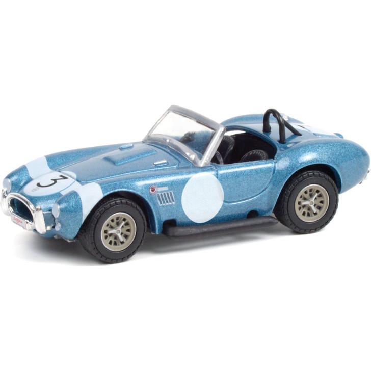 1964 Shelby Cobra #3 FIA Bondurant Tribute (Lot #1321.1) - Barrett-Jackson Scottsdale 1:64 Scale Diecast Model by Greenlight Main Image